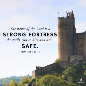 Find real safety in the midst of your trouble