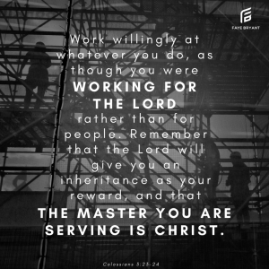 The Master You're Serving