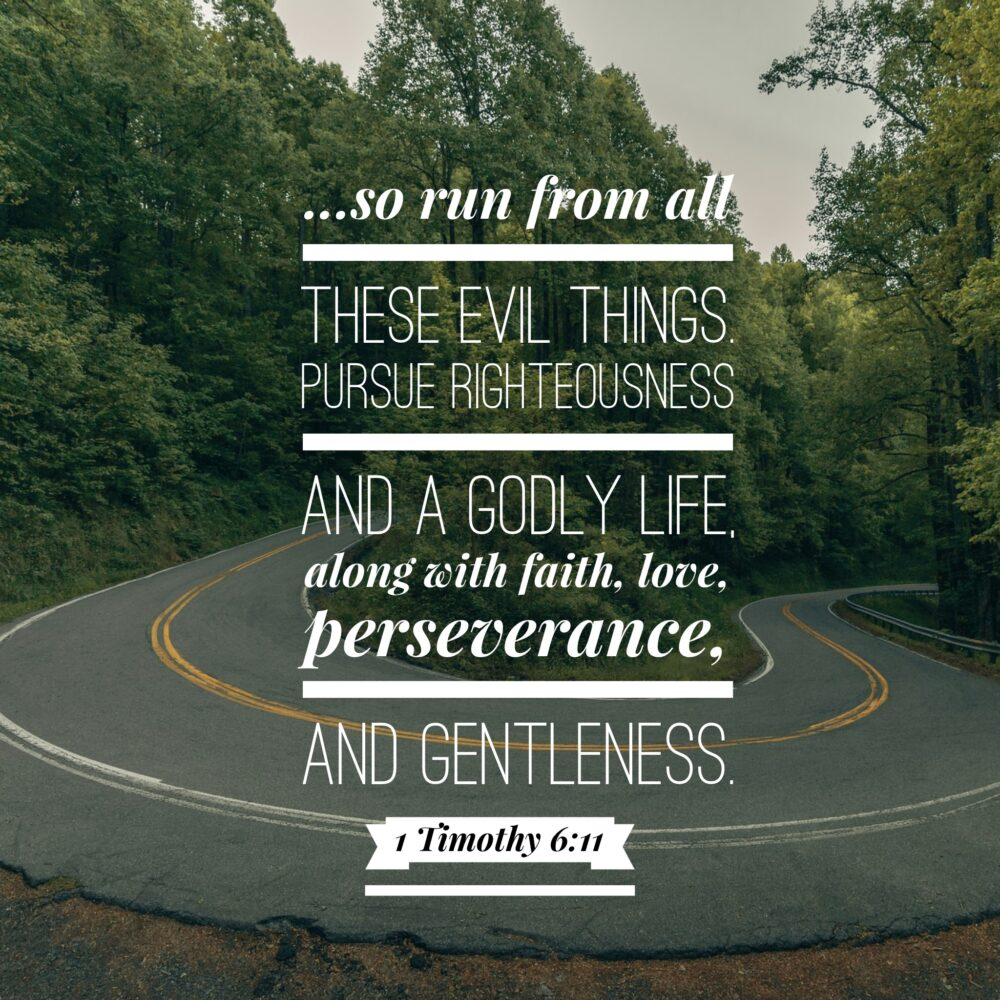 Leave evil in the rearview, race toward God!