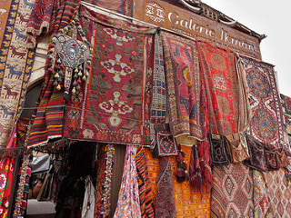 Carpet caravansaray, Cappadokia