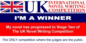 Winner UK International Novel Writing Competition