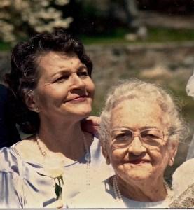 Mom & Me, Circa 1992