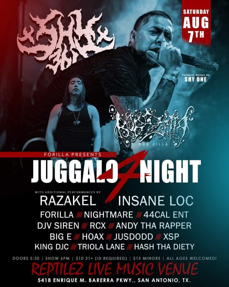 Juggalo Night 4 - San Antonio, TX