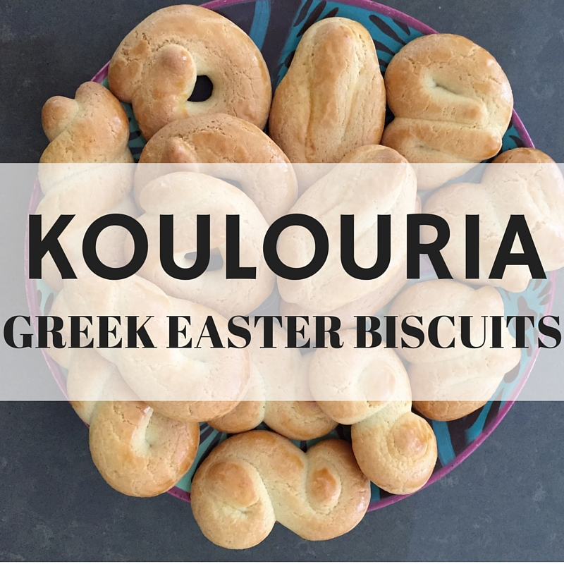 Koulouria Greek Easter Biscuits – Recipe For Your Thermomix