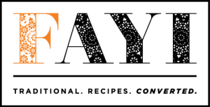 Fayi Cookbooks - Traditional Recipes Converted
