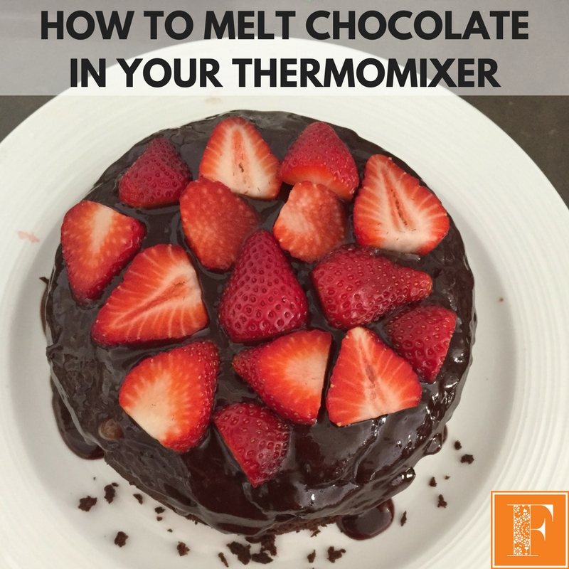 How To Melt Chocolate In Your Thermomix
