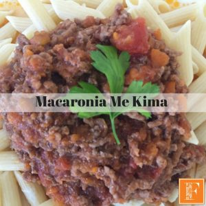 Macaroni Me Kima - Fayi - Thermo Mixer Recipe