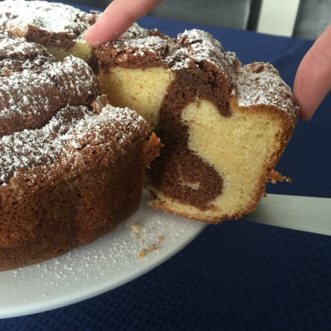 Greek Marble Cake - Thermomixer Recipe