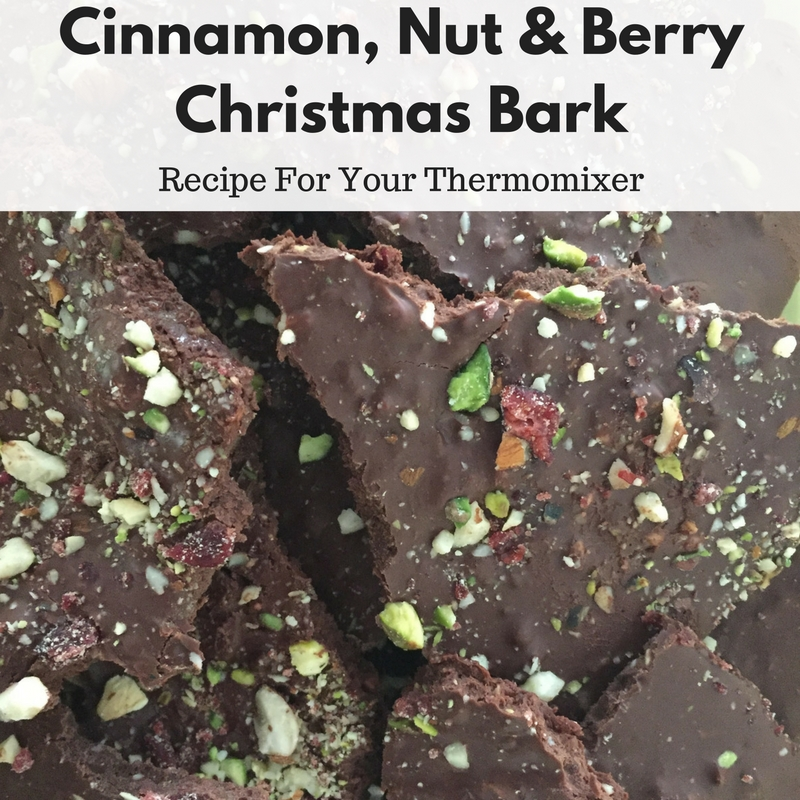 Cinnamon, Nut & Berry Christmas Bark Recipe For Your Thermomix