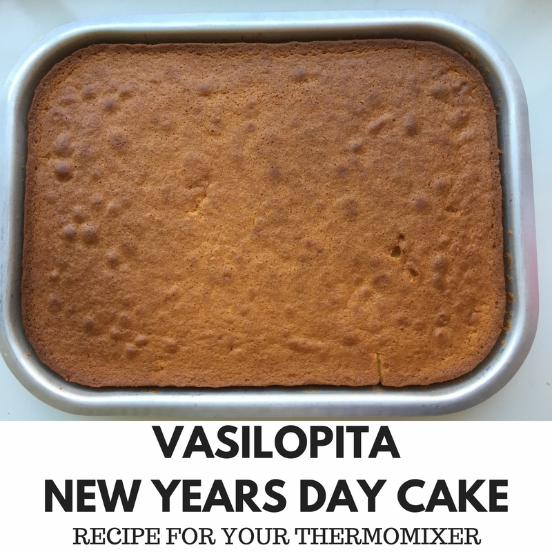 Vasilopita New Years Day Cake - Recipe For Your Thermomixer