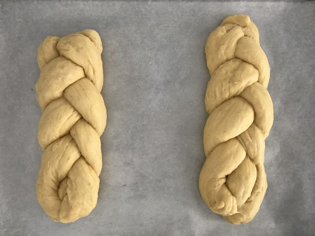 Tsourekia Greek Easter Bread