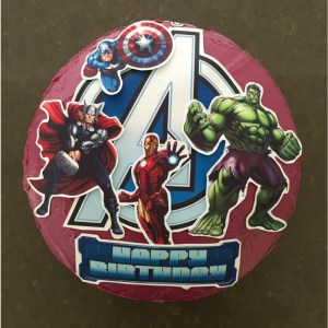 Sponge Cake For Avengers Themed Kids Birthday Party – Recipe For Your Thermomix