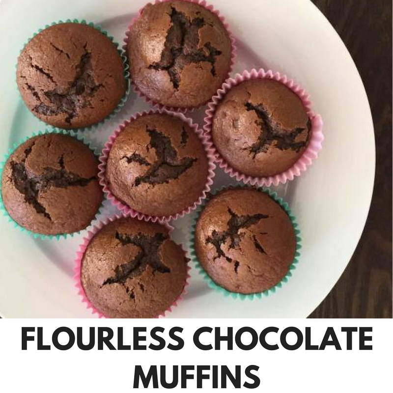 FLOURLESS CHOCOLATE MUFFINS Thermomix Recipe