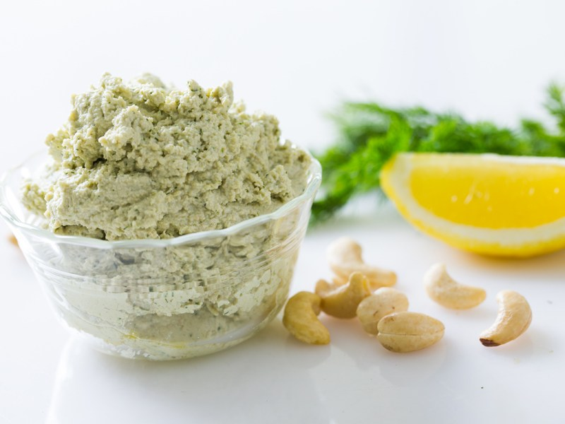 Thermomix Fermented Cashew Dill Dip
