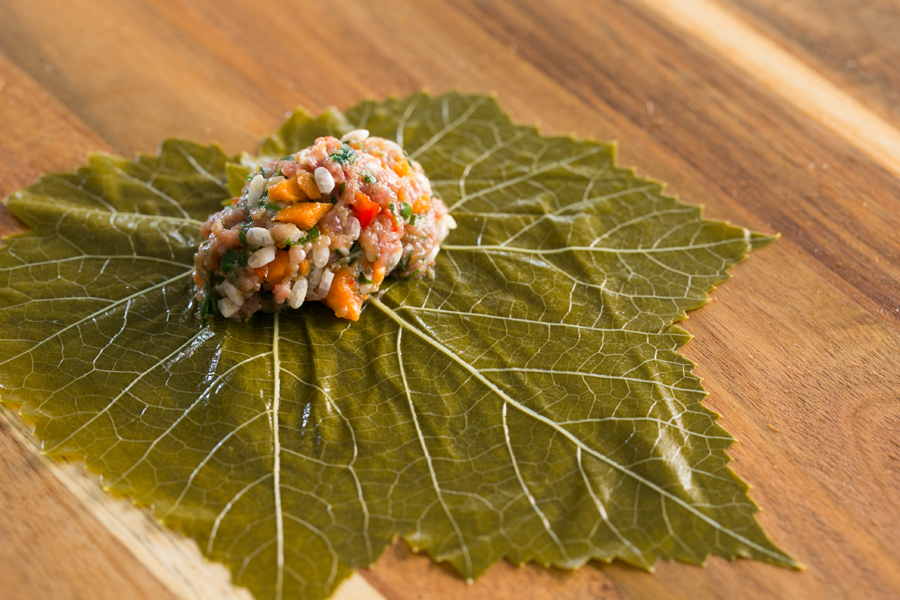 Thermomix Dolmades Vine Leaf Wraps