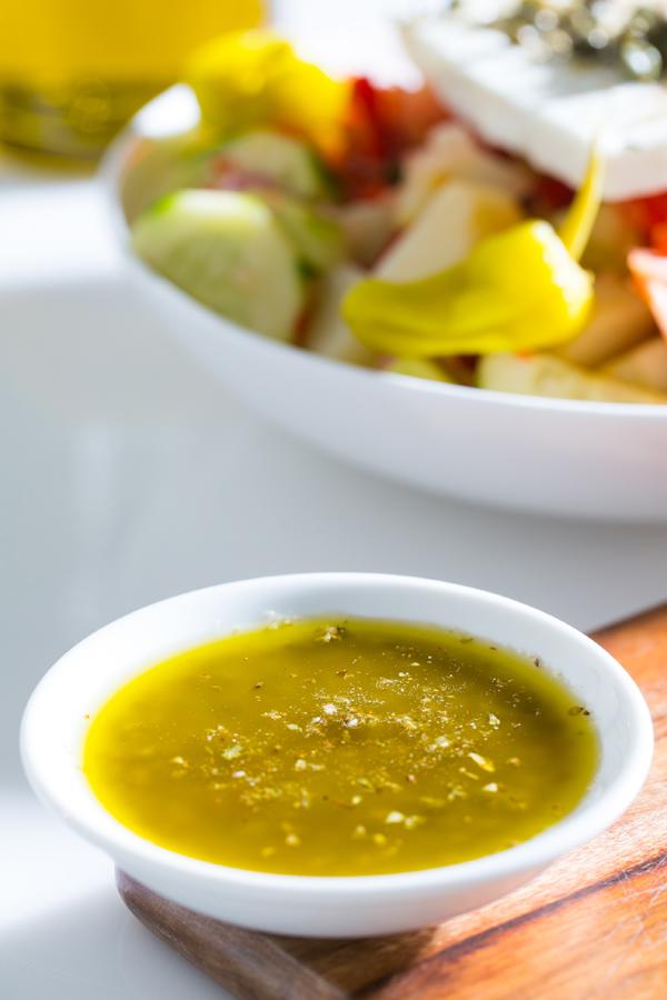 Thermomix Greek Salad Dressing