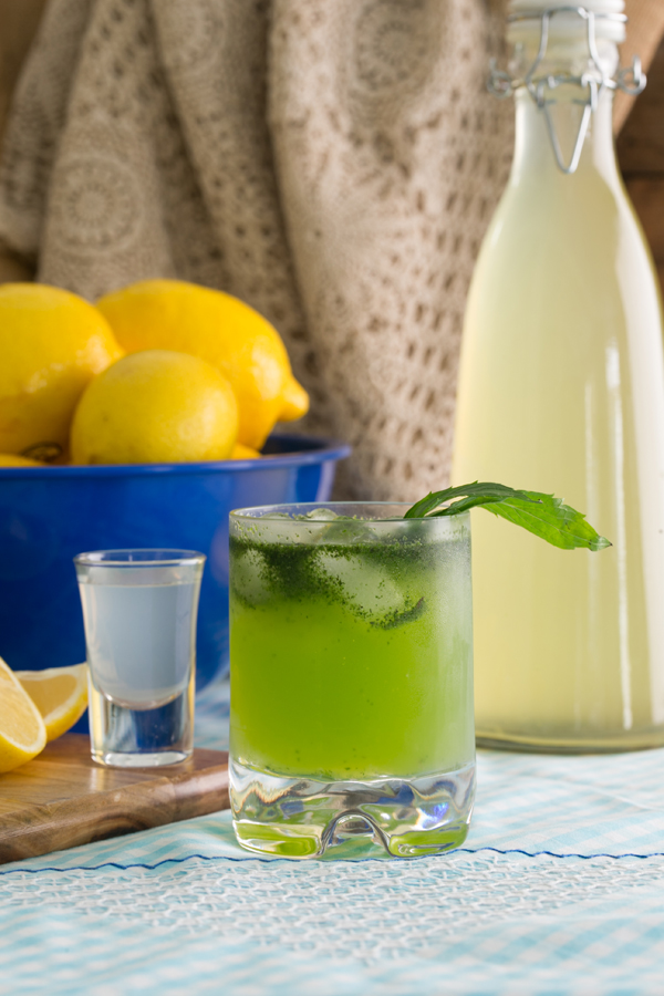 Thermomix Ouzo Lemonatha Ouzo with Lemonade
