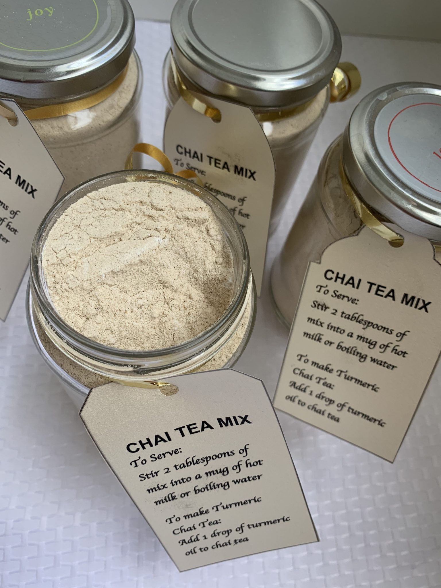 Thermomix Chai Mix in a Jar