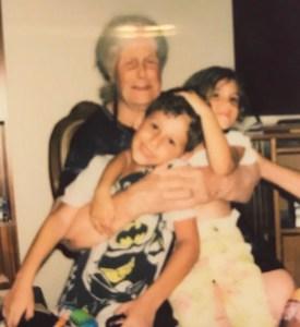 great grandma yiayia