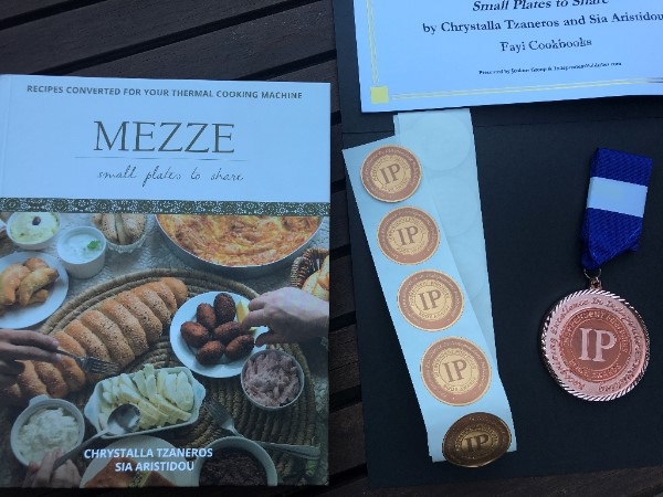Independent Publisher Book Awards 2017 – Mezze Cookbook