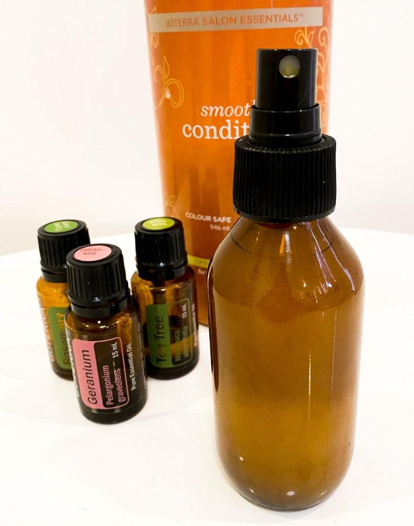 hair detangler with essential oils