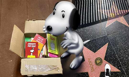 Digital Snoopy painting