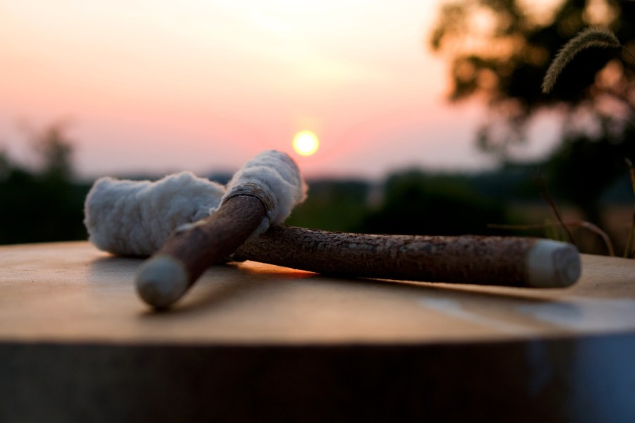 Reiki Drum sunset