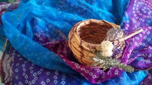 root bowl Shamanism Fay Johnstone
