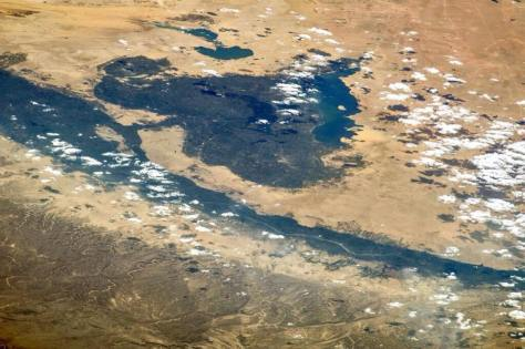 Fayoum from Space