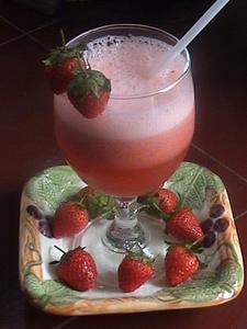 Cara Membuat Jus Stroberi : membuat, stroberi, Resep, Strawberry, Tempe_strawberry