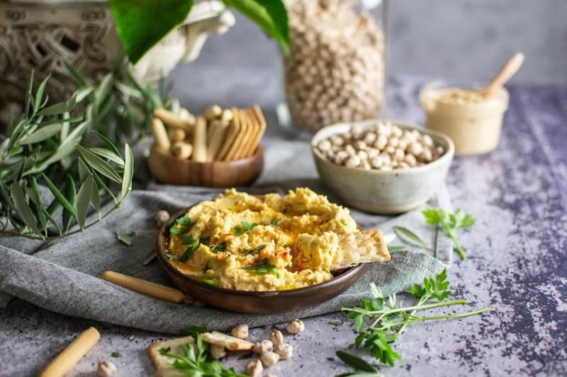 humus receita saudável
