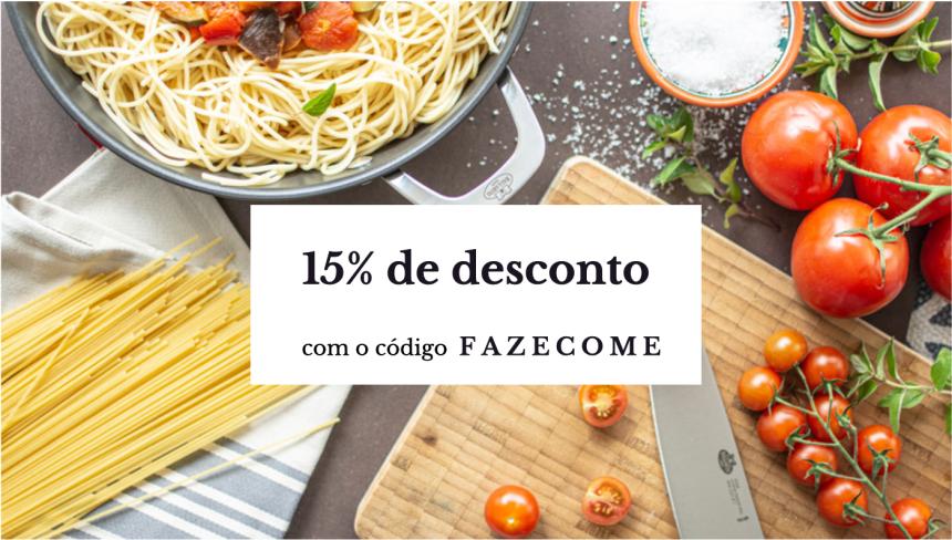 Compre os produtos Ballarini com 15% de desconto!
