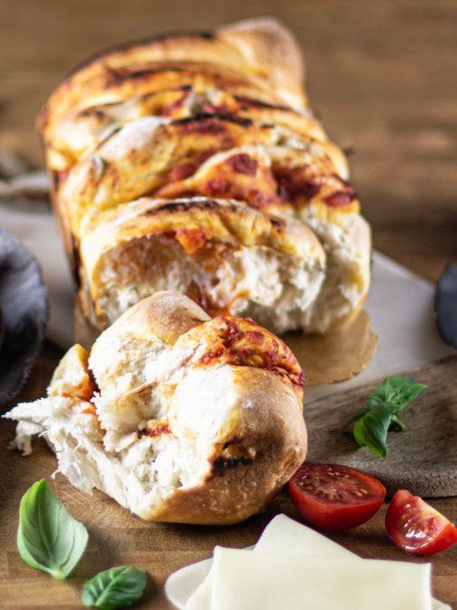 Pão pizza napolitana