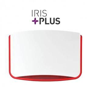 IRIS PLUS RED Σειρήνα LED Flash κόκκινη