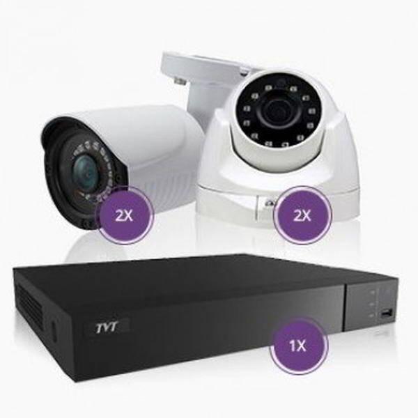 CCTV KIT 4CH 5MP