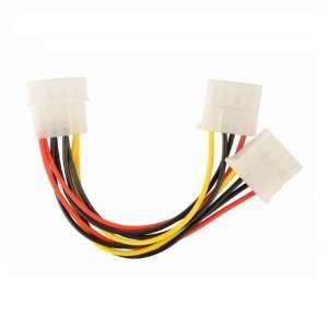 INTERNAL POWER MOLEX 4 PIN SPLITTER CABLE