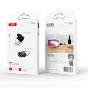 XO NB149B ΑΝΤΑΠΤΟΡΑΣ MICRO USB TO LIGHTNING
