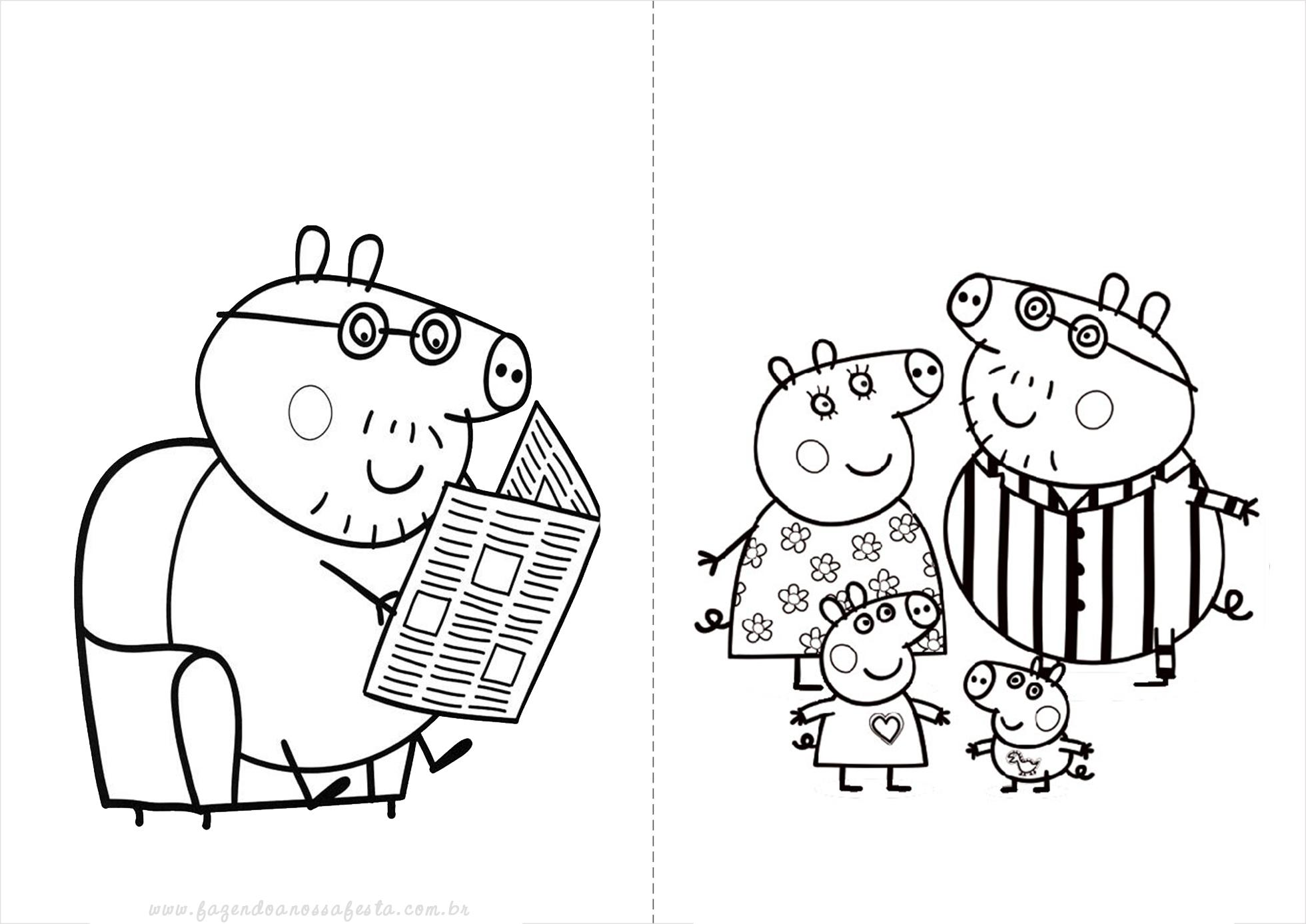 Pepa Pig Para Pintar