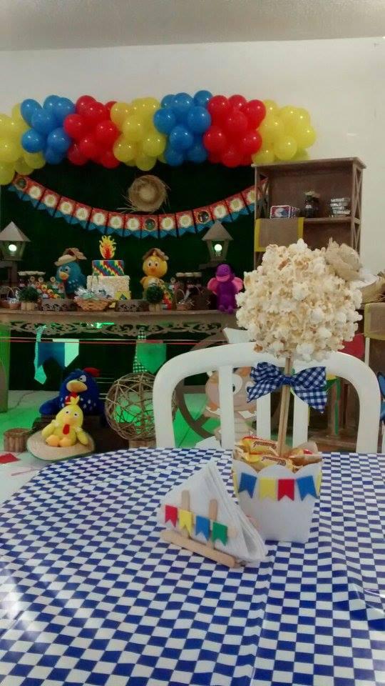 Mesas Festa Junina do Theo  Fazendo a Nossa Festa