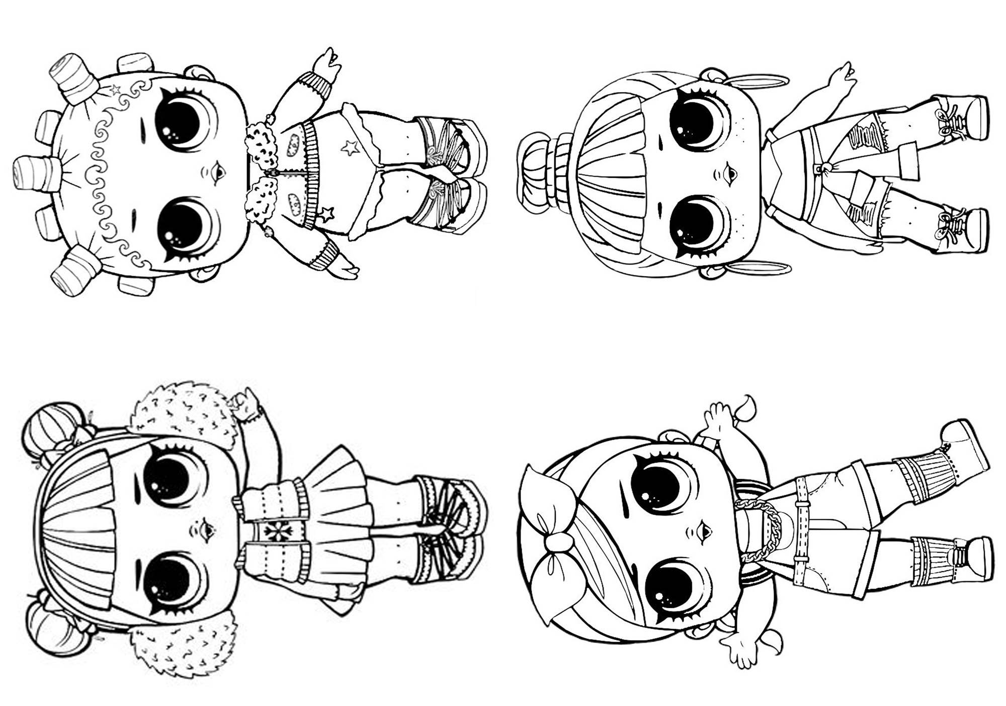 Cool Dibujos Para Imprimir De Lol Surprise Serie 2