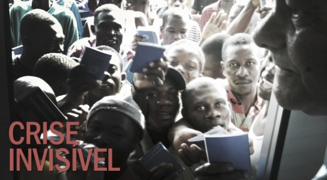 Haitianos: Visto 'humanitário' para inglês ver