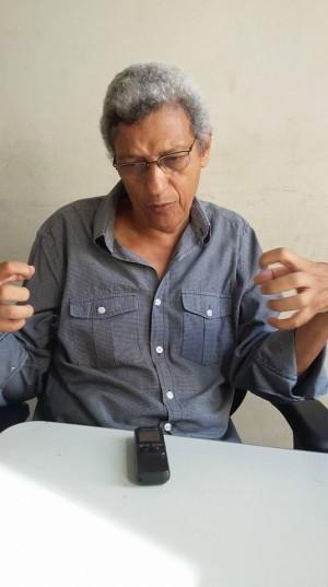 """""""um dos grandes problemas em nosso país é a falta de democratização dos meios de comunicação"""", defendeu. Foto: Eduardo Sá/Fazendo Media"""