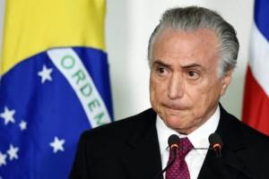 Michel Temer após a saída de Dilma Rousseff. Foto: Evaristo Sá/AFP