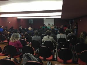 Auditório da Universidade Cândido Mendes, no centro do Rio. Foto: Arquivo evento.