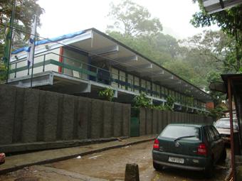 Escola interditada há mais de dois meses na Vila Laboriaux, na comunidade da Rocinha. Foto: Divulgação.