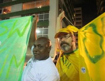 Juntos: Moçambique e Canadá. Foto: Blog Atingidos pela Vale.