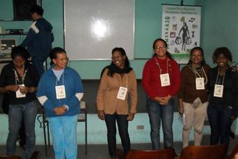 Participantes do evento expondo as suas XXXX. Foto: Arquivo/PACS.