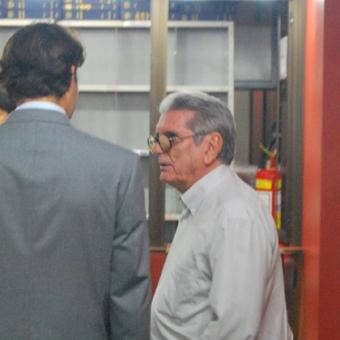 Tenente Coronel Lício Maciel, na audiência pública realizada no Tribunal de Justiça Federal. Foto: Gabriel Bernardo/Fazendo Media.