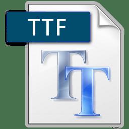 LOGO-TTF Tipografias e Fonts
