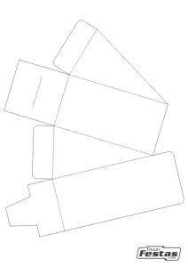 Molde-Fatia-de-Bolo-de-Papel-tampa-frente Fatia de bolo de papel com tampa na frente - Bolo Fake